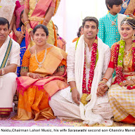 Lahari Manohar Naidu Second Son Chandru Manoharan marriage Photos