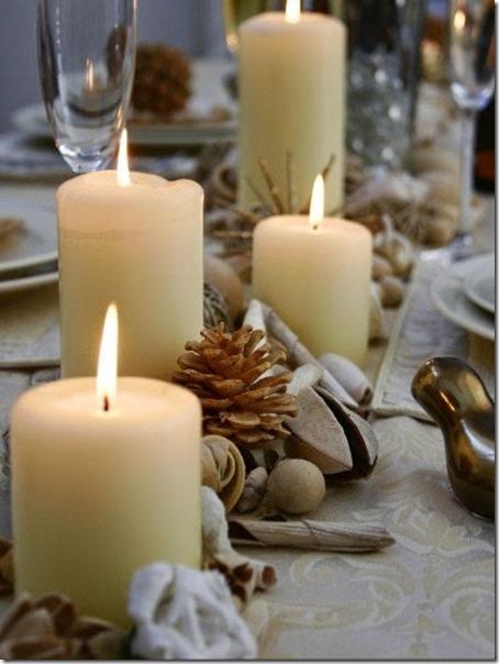 Decorar con velas en navidad (18)