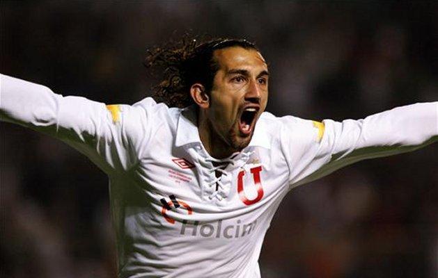 Hernan Barcos, goleador de Liga de Quito