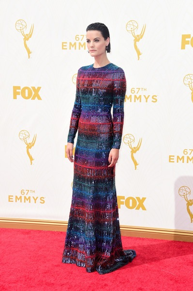Jaimie Alexander attends the 67th Annual Primetime Emmy Awards