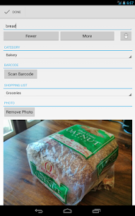 OurGroceries Key- screenshot thumbnail