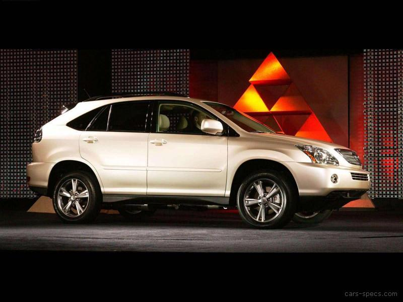 2008 lexus rx 400h suv specifications pictures prices. Black Bedroom Furniture Sets. Home Design Ideas