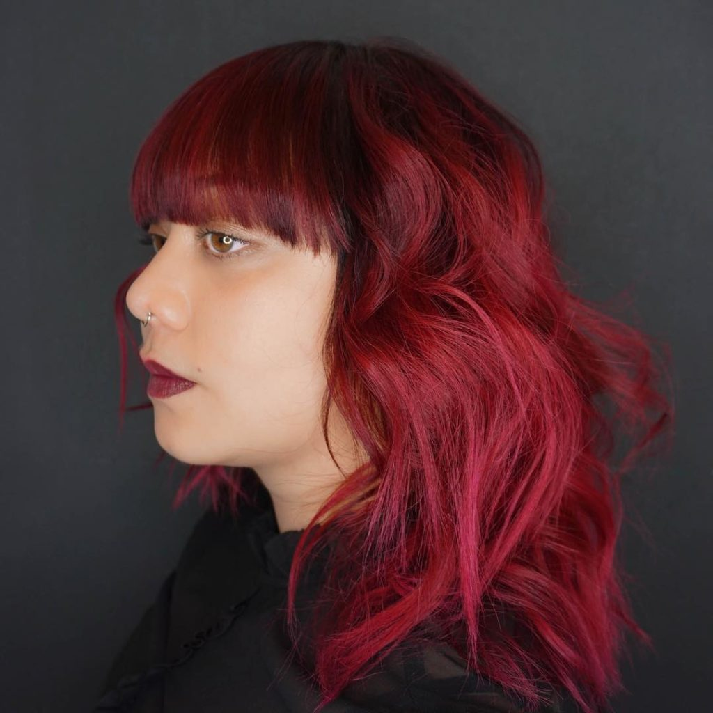 Unique Bright Red Hair Color Ideas To Try Styles Art