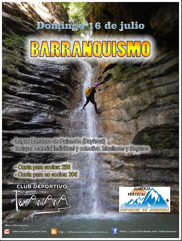Cartel Barranquismo Palancon