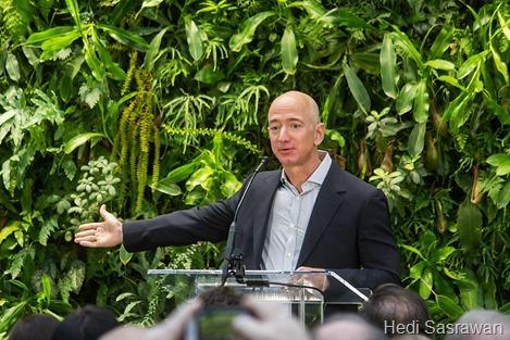 Orang terkaya di dunia saat ini, Jeff Bezos