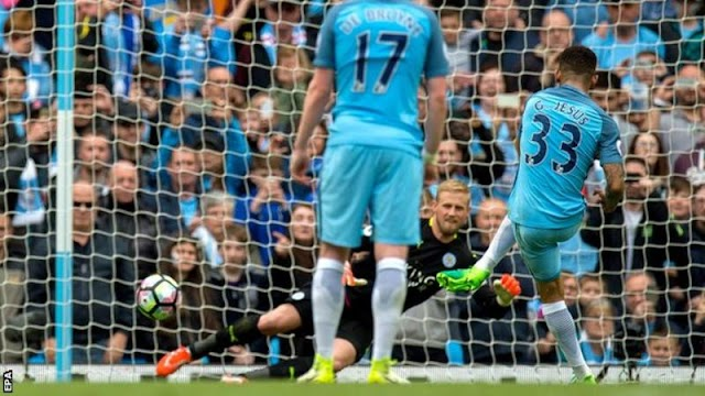 ManCity moves third on EPL Table as Leicester city have penalty ruled out