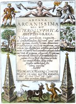 From Michael Maier Arcana Arcanissima 1614, Alchemical And Hermetic Emblems 2