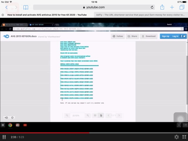avg antivirus 2015 serial key