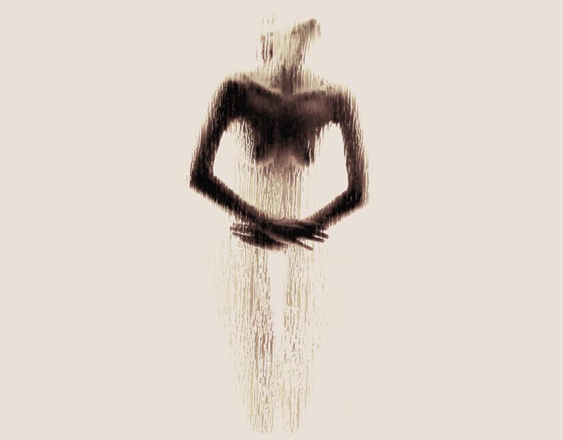 *女性裸體字母剪影:希臘藝術家Anastasia Mastrakouli 解剖人體視覺奧秘! 16