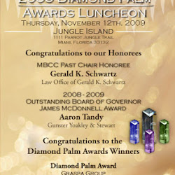 2009 Diamond Palm Awards Luncheon at Jungle Island