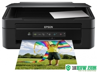How to reset flashing lights for Epson XP-207 printer