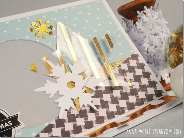 Come fare una Tea Light Easel Card per Natale