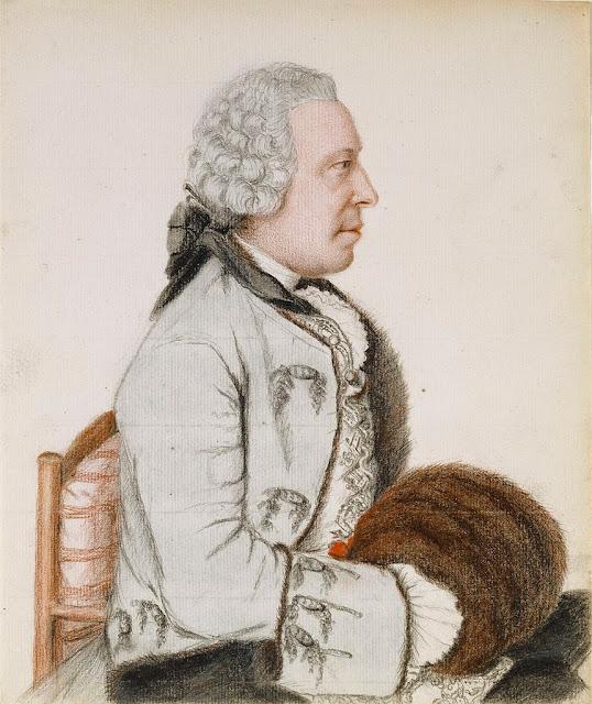 Jean-Étienne Liotard - Portrait des Charles-Benjamin de Langes de Montmirail, Baron de Lubières