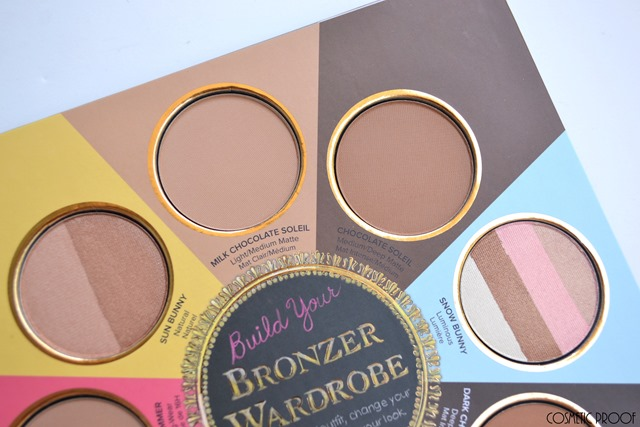 Too Faced The Little Black Book of Bronzers Review Swatches (3)