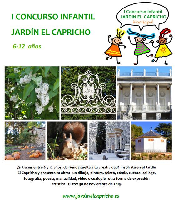 I concurso infantil Jardín El Capricho