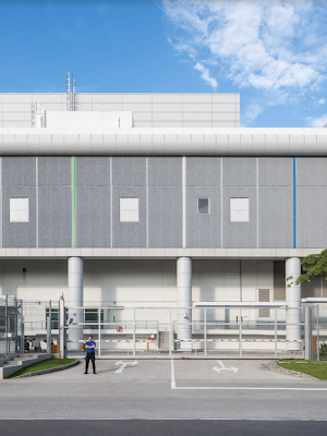 Google Data Center building in Taiwan.