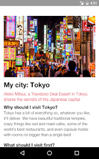 Travelzoo Experience- screenshot thumbnail
