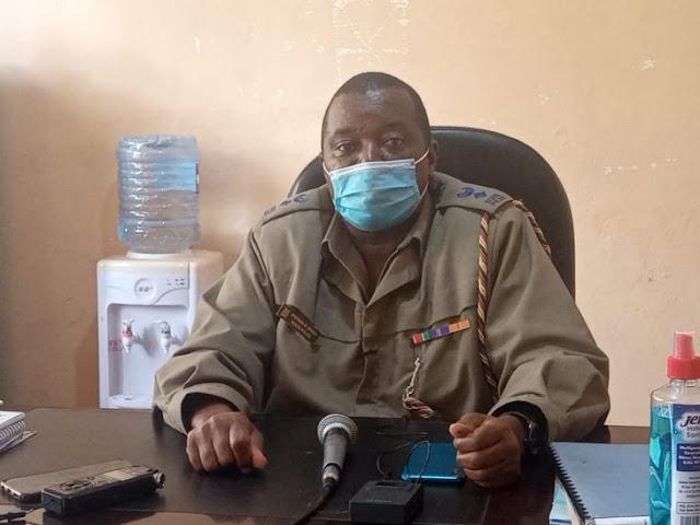 Mt Elgon sub-county police commander Stephen Muoni