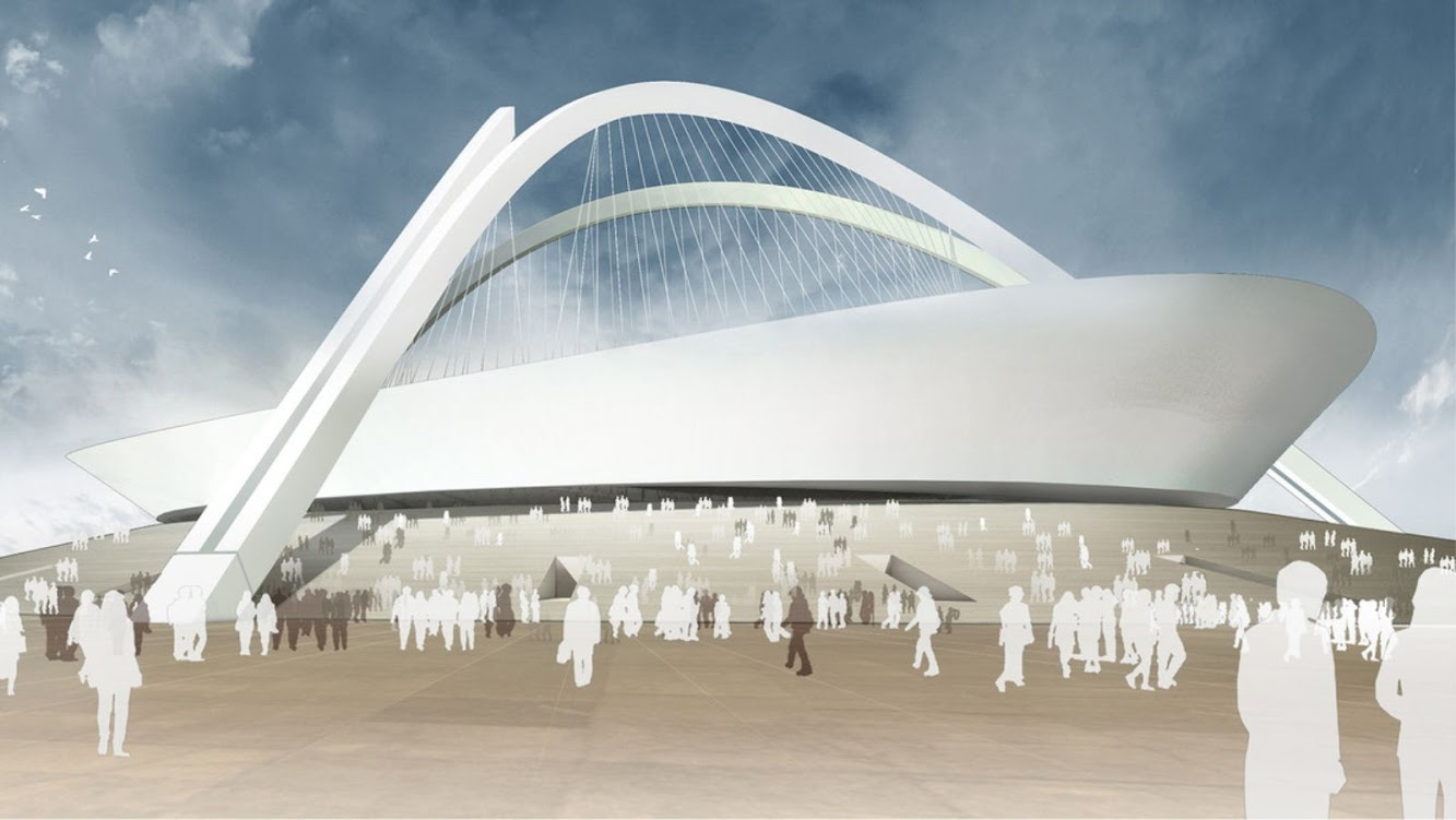 Municipalità di Tripoli, Libia: New Football Stadium by Gmp Architekten