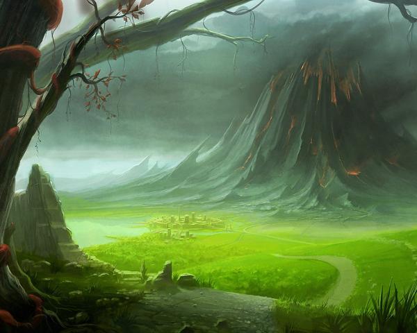 Weird Landscape Of Dream, Fantasy Scenes 3