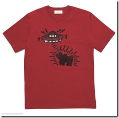 COACH x Keith Haring T-shirt in Ruby (29625)