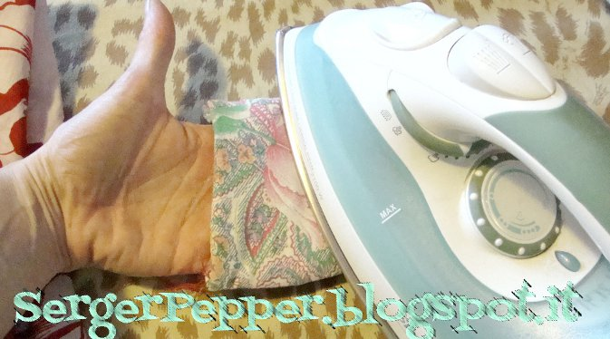 Serger Pepper - Pressing Tools DIY - Sleeve roll any sizes from scraps!