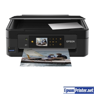 Get Epson XP-410 resetter software