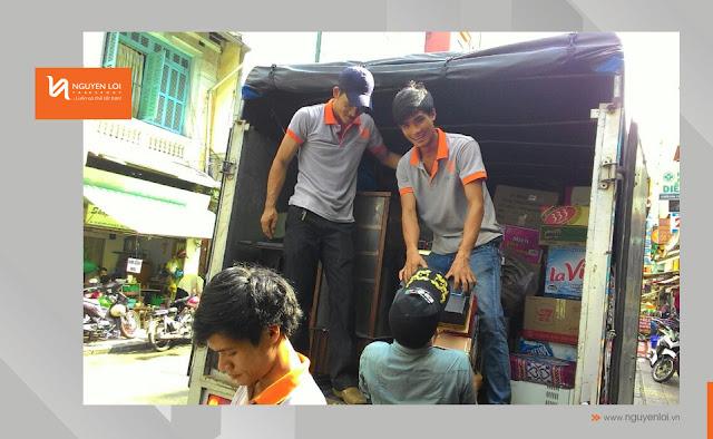 xe tải 2 tấn chuyển dọn nhà