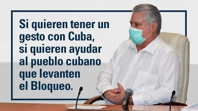 """Presidente de Cuba: """"No vamos a permitir que nadie manipule nuestra situación""""."""