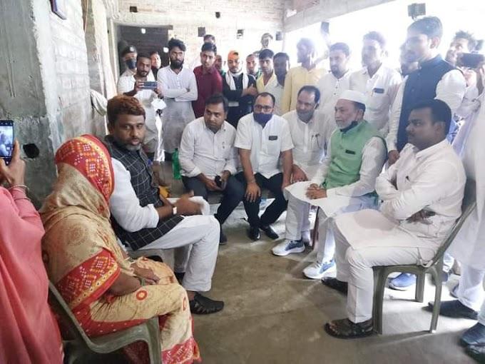 AIMIM के प्रदेश अध्यक्ष ने समस्तीपुर के आधारपुर मामले पीड़ित परिवार हर संभव मदद करने का आश्वासन दिया