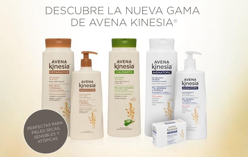 Nueva gama Avena Kinesia pieles delicadas y atópicas