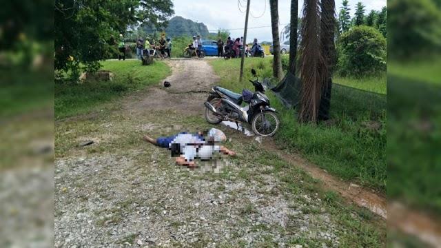 Maut diserang sakit jantung ketika tunggang motosikal