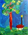 Plein Air Painting by Clair