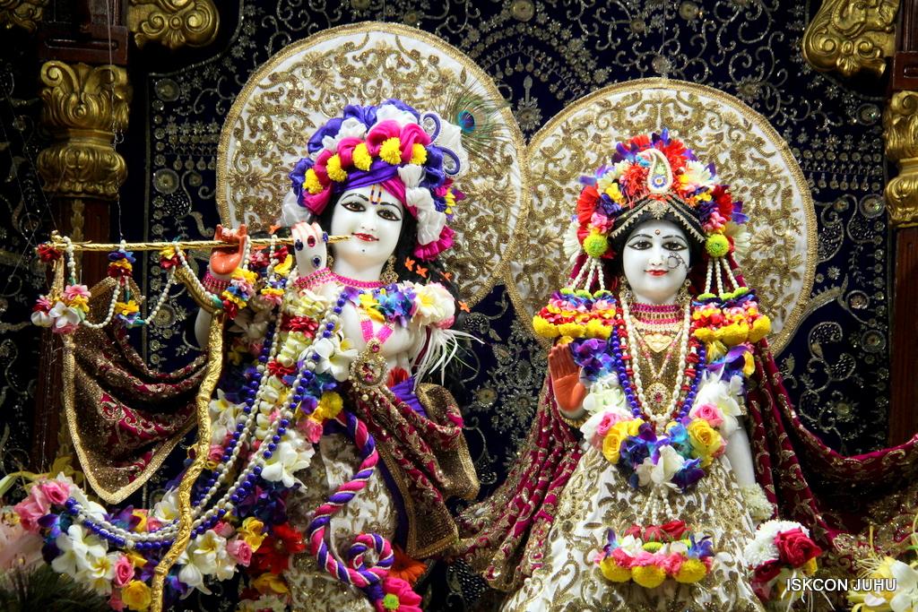 ISKCON Juhu Sringar Deity Darshan on 24th Oct 2016 (10)