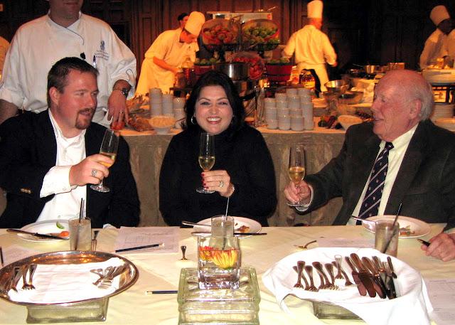 Iron Chef Judge - Susan Maria Leach at the Ritz Carlton Reynold's Plantation