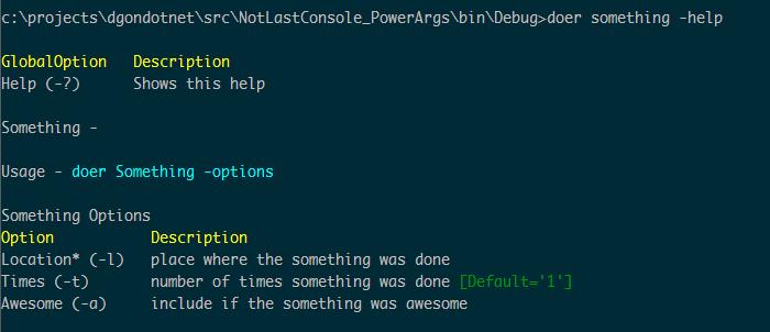 powerargs_command_help
