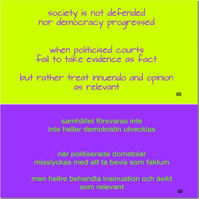 politicised courts