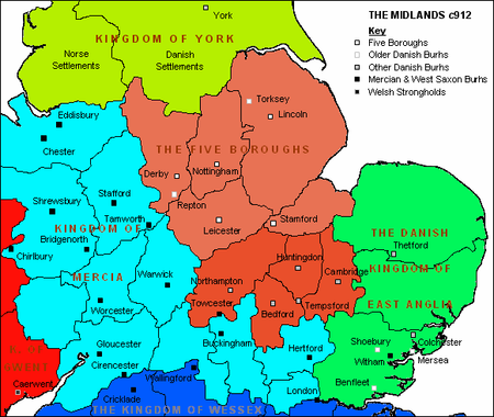 Map Of England 450 Ad.The Scandinavian Invasion The Viking Age