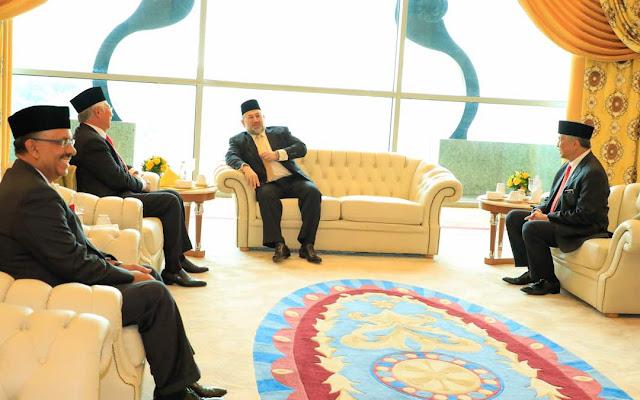 Lawatan KDYMM SPB Yang Di-Pertuan Agong ke Jabatan Perdana Menteri di Bangunan Perdana Putra, Putrajaya