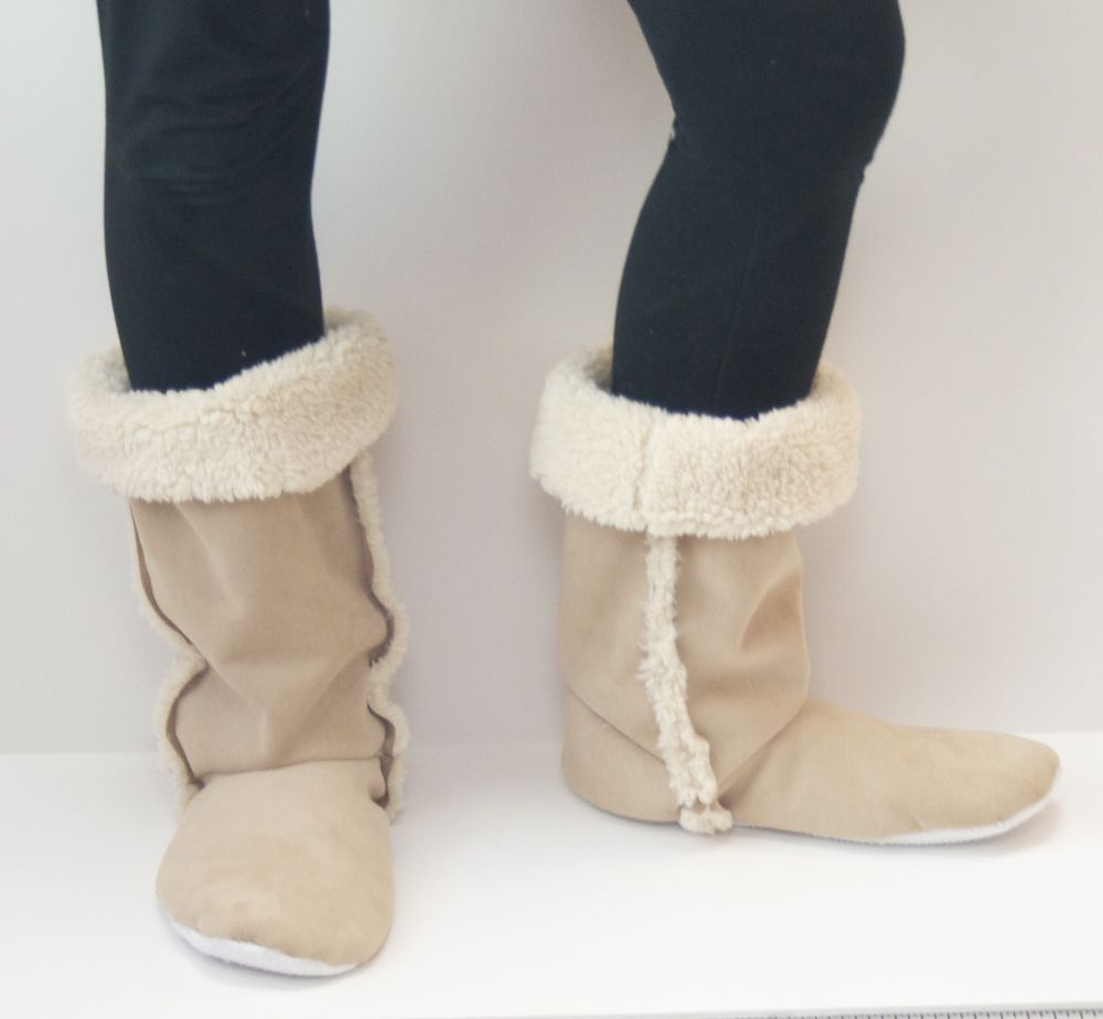 Old Navy Womens Sequin Sherpa Boots - Polyvore