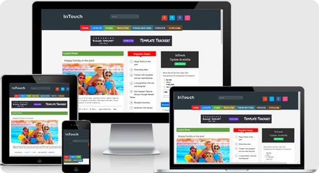 InTouch-Blogger-Template