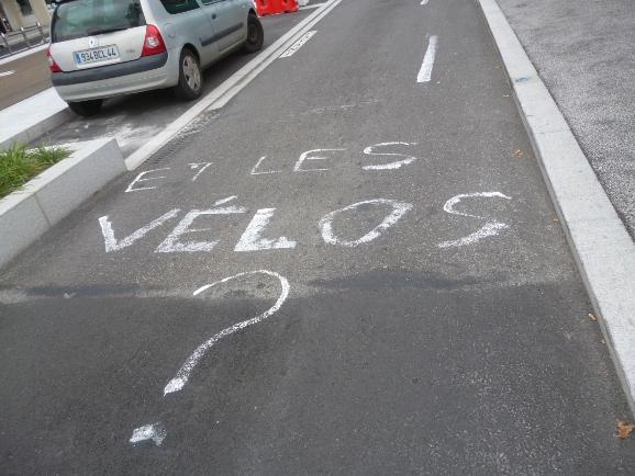 Et les Vélos ?