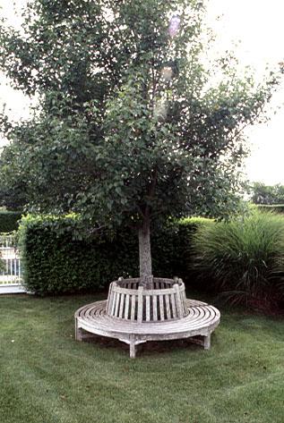 A cool sitting spot.