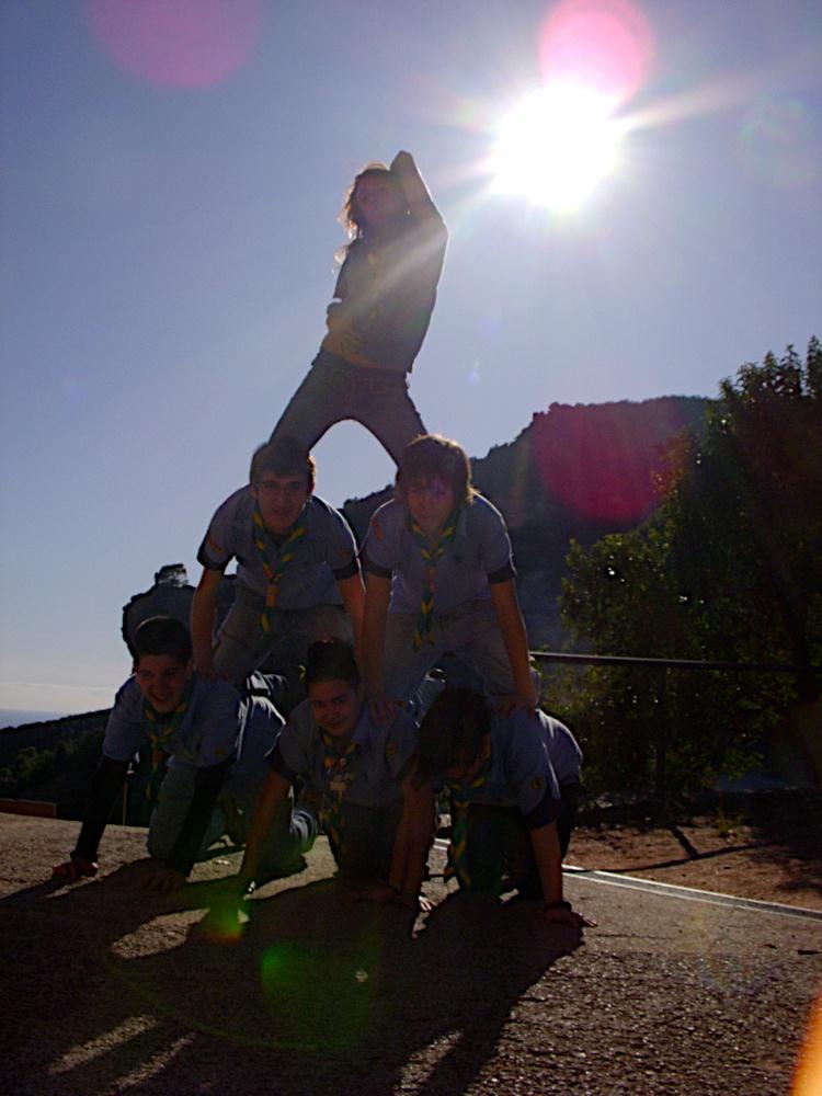 Sortida Castell Eramprunyà - Pioners 2009 - DSCN1000.jpg