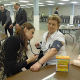 Spotkanie medyczne z Dr. Elizabeth Mikrut przy kawie i pączkach. Zdjęcia B. Kołodyński - SDC13648.JPG