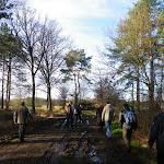008-Nieuwjaarswandeling met de Bevers.Menno gidst ons door het mooie natuurgebied De Regte Heide te Go+»rle