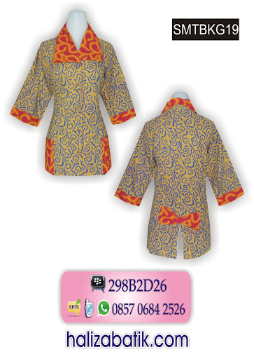 model baju baru, contoh batik, batik modern