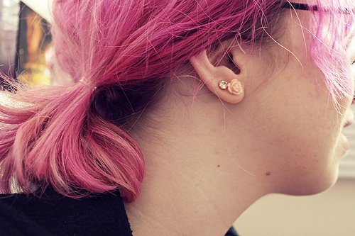 Pinks Hair Style: Kristine Blogs New: Funky Pink Hair Style