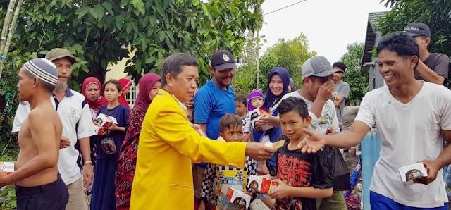 Legislator Kapuas Bantu Korban Terdampak Banjir Kalsel