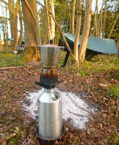 Coffee and kelly kettle